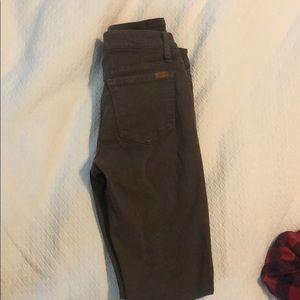 Joe's brown jeans